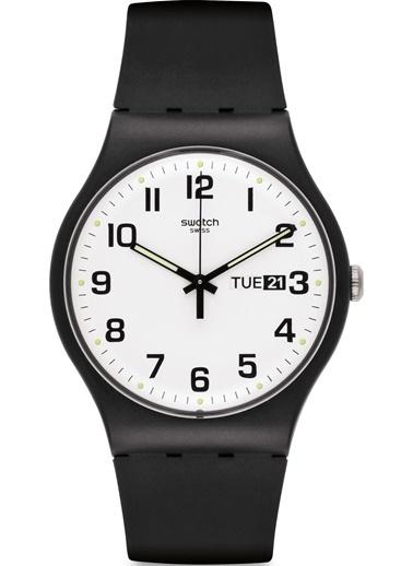 Swatch Suob705 Erkek Saati Siyah